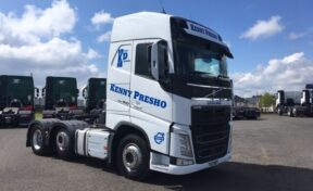 Kenny Presho Haulage Takes Delivery of Volvo FH4-460