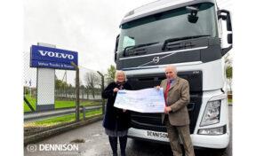 Dennison Commercials honour 50th Anniversary pledge of £50,000 to NI Children's Hospice